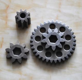 怎样在粉末冶金齿轮上的增强