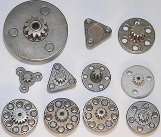 如何提高粉末冶金合金齿轮零件的密度