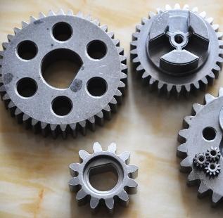 粉末冶金合金齿轮在发动机中广泛应用