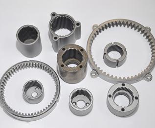 定制加工非标粉末冶金齿轮高强度粉末冶金合金齿轮 内齿圈支架粉末冶金齿轮微型减速箱